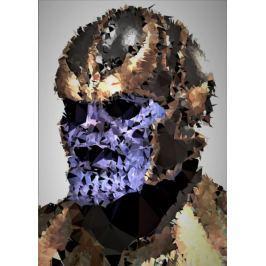 POLYamory - Thanos, Marvel - plakat