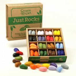 Kredki kamyki Crayon Rocks w pudełku 64szt - 16 kolorów