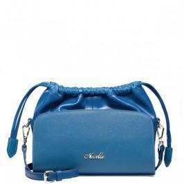 Modna torebka do ręki Niebieska