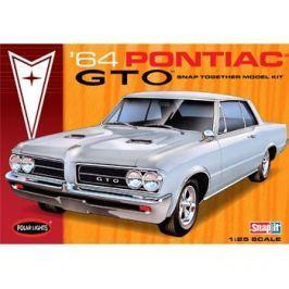 Model Plastikowy - Samochód 1964 Pontiac GTO Hardtop Snap - Polar Lights
