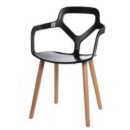 Krzesło Nox Wood czarne
