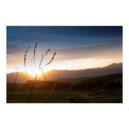 Zachód słońca - plakat