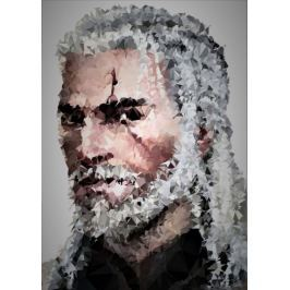 POLYamory - Geralt, Wiedźmin - plakat