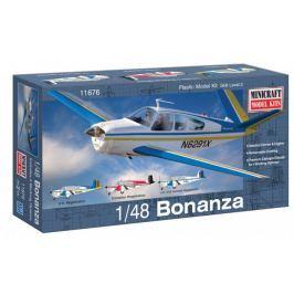 Model plastikowy - Samolot Bonanza - Minicraft