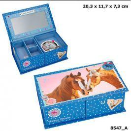 Szkatułka pudełko na biżuterię Horses Dreams 85476 z konikami
