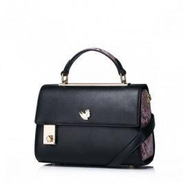 Gustowna damska torebka na ramię Czarna