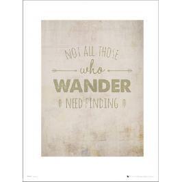 Adventure Wander Finding - plakat premium