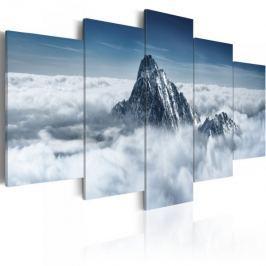 Obraz - Szczyt góry ponad chmurami