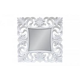 Lustro wiszące Baroque 100x100 biały
