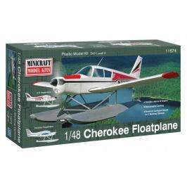 Model plastikowy - Samolot (hydroplan) Piper Cherokee - Minicraft