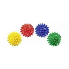 Gumowa, kolczasta piłeczka, 4 kolory
