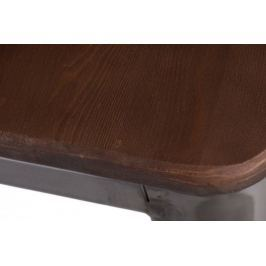 Hoker Paris Wood 65cm metal sosna orzech