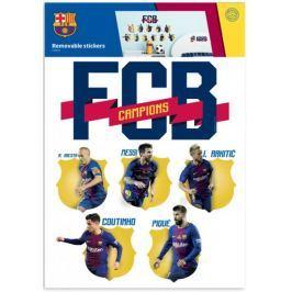 Naklejka ścienna zdejmowalna FC Barcelona -  2 arkusze