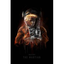 Marsjanin - plakat premium
