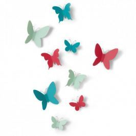 Zestaw dekoracyjny Mariposa kolorowe