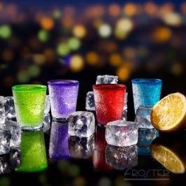 Nietopniejące kieliszki lodowe - kolorowe
