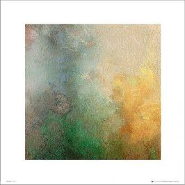 Abstract Green - plakat premium