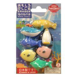 Gumki do mazania - puzzle 7 pak Iwako