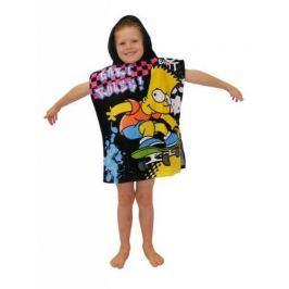 Ponczo Ręcznik z kapturem The Simpsons