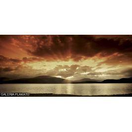 Zachód Słońca nad Wyspą - plakat premium