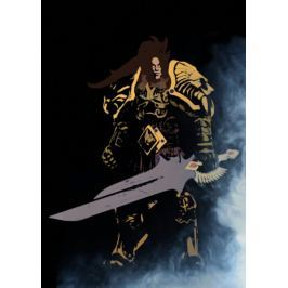 BlizzardVerse Stencils - Varian, the King of Alliance, Warcraft - plakat