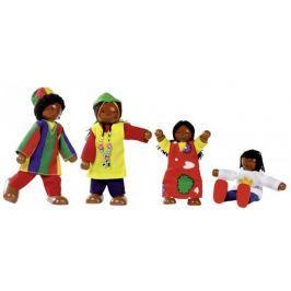 Elastyczne laleczki, afrykańska rodzina