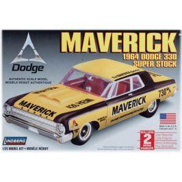 Model Plastikowy Do Sklejania Lindberg (USA) - 1964 Dodge Maverick