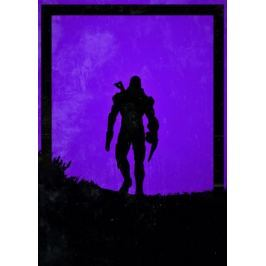 Dawn of Heroes - John Shepard, Mass Effect - plakat
