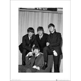 The Beatles Chair - plakat premium