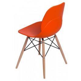 Krzesło Layer DSW pomarańczowe