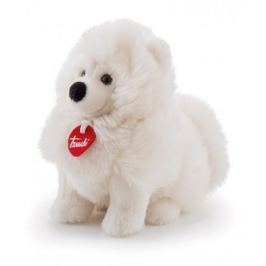 Pluszowy biały piesek Samoyed Trudi Fluffies