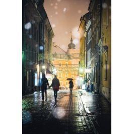 Warszawa Spacerkiem po starówce - plakat premium
