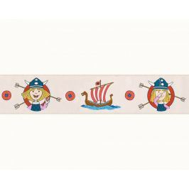 Pasek dekoracyjny Piraci Wikingowie BORDER 94195-1 KIDS BEST FRIENDS