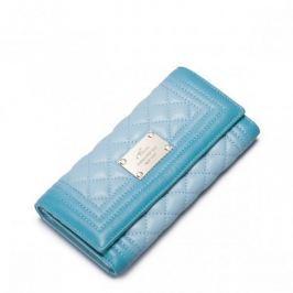 NUCELLE Długi portfel z gradientem Zielony