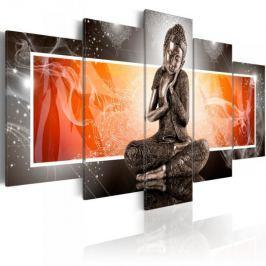 Obraz - Budda i ornamenty