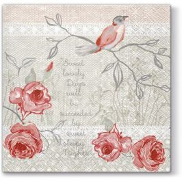 Pl Serwetki Memorable Bird