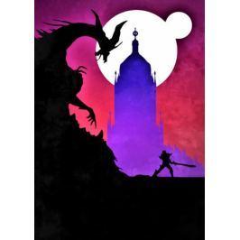 Dark Souls Vintage Poster - plakat