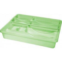 Organizer / Wkład do szuflady na sztućce plastikowy PLAST TEAM ZIELONY 39 x 30 cm