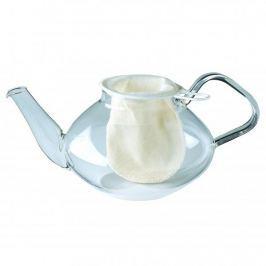 Woreczek do parzenia herbaty bawełniany WESTMARK CHOY BIAŁY 9 cm