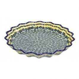Forma do pieczenia tarty ceramiczna GU-1332 DEK. DU1 BOLESŁAWIEC 32 cm
