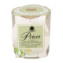 Świeca zapachowa woskowa w szkle PRICE'S CANDLES WINTER JASMINE BIAŁA