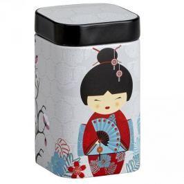 Puszka na herbatę stalowa EIGENART KIMONO GEJSZA SZARA 0,4 l