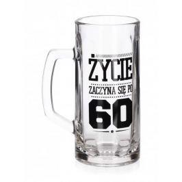 Kufel do piwa szklany FUN 60 - TE URODZINY 600 ml
