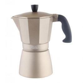 Kawiarka aluminiowa ciśnieniowa ZEST FOR LIFE GOLD ZŁOTA - kafetiera na 6 filiżanek espresso