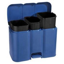 Plastikowy kosz do segregacji śmieci TONTARELLI PATTY MIX KOLORÓW 34 l