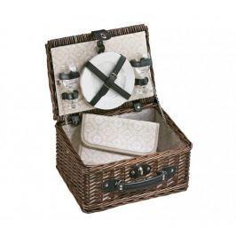 Koszyk piknikowy wiklinowy CILIO MULTI BEŻOWY 37 x 28 cm