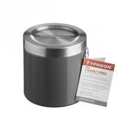 Pojemnik na żywność ze stali nierdzewnej HUDSON GRAFITOWY 0,6 l