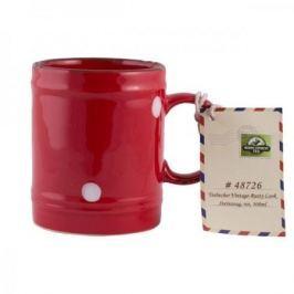 Kubek porcelanowy boss MOUNT EVEREST TEA RUSTY LOOK CZERWONY 300 ml