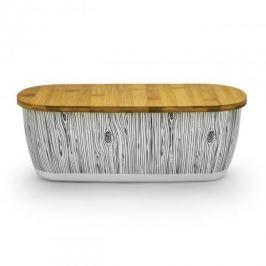 Chlebak bambusowy z deską do krojenia ODELO DREWNO BEŻOWY