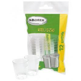 Kieliszki do wódki plastikowe DRINK 30 ml 12 szt.